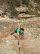 Rock Climbing Photo: Thin Slice