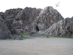 Rock Climbing Photo: White Face Crag. Located North East of the toilets...