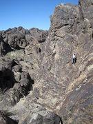 Rock Climbing Photo: Me climbing Route 66