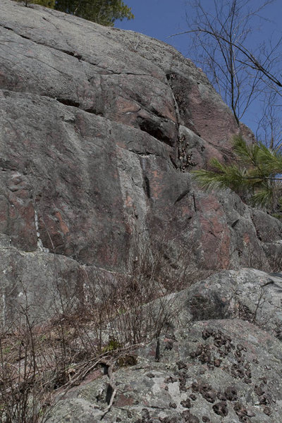 Rock Climbing Photo: Some features at the North-1 area.