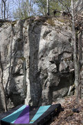 Rock Climbing Photo: CamelBak. North East end of the South area. Follow...