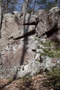 Rock Climbing Photo: Some features at the MBA East area.