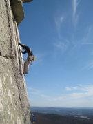 Rock Climbing Photo: Last pitch of CCK