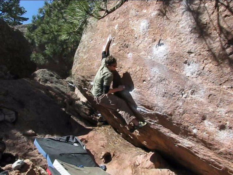 Rock Climbing Photo: Tyson H. on the standard V3.