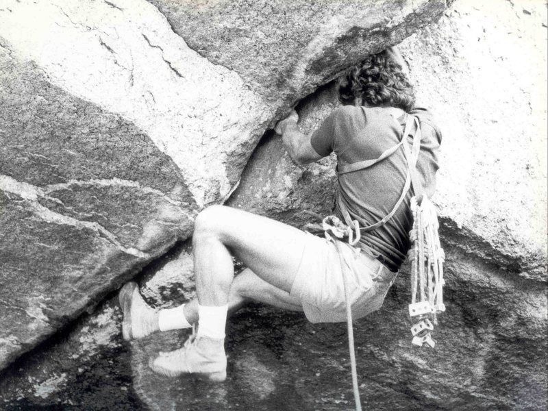 Rock Climbing Photo: Daniel McClure, FA of False Determination, Photo G...
