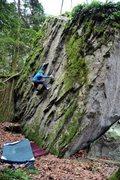 Rock Climbing Photo: Marc-Andre