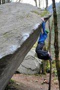 Rock Climbing Photo: Marc-Andre  Photo: Scott Pick