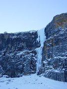 Rock Climbing Photo: ice climb