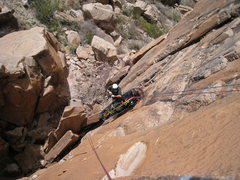 Rock Climbing Photo: Bruce of the Organ Mountain Technical Rescue Squad...