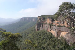 Rock Climbing Photo: A view from Upper Lithgow Cliffs overlooking the W...