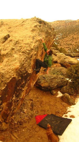Rock Climbing Photo: Bone Park.