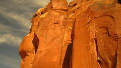 Rock Climbing Photo: Crack Attack
