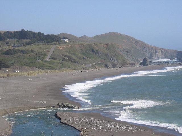 Rock Climbing Photo: sonoma coast