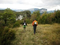 Rock Climbing Photo: Hike back to the car on the summit plateau of Roch...