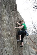 Rock Climbing Photo: My first 5.9 lead! & I sent it!