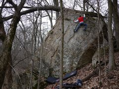 Rock Climbing Photo: Satermo on 87th best.  Fun, tall, but beware a lar...