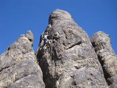 Rock Climbing Photo: On Step Across 5.10a