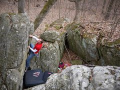 Rock Climbing Photo: Matt.