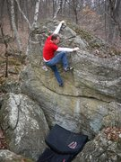 Rock Climbing Photo: Another one on this fun problem.