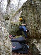 Rock Climbing Photo: Party Boobytrap.