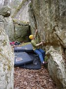 Rock Climbing Photo: Another of this problem.