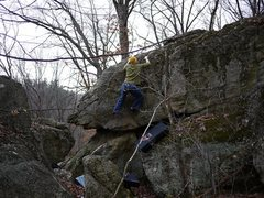 Rock Climbing Photo: Another one of this problem.