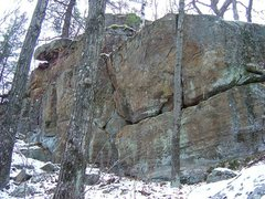 Rock Climbing Photo: Rock potential of Twin Valley North.
