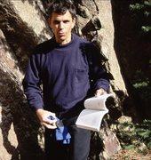 Rock Climbing Photo: Dinosaur Mountain, Jan., 2000.