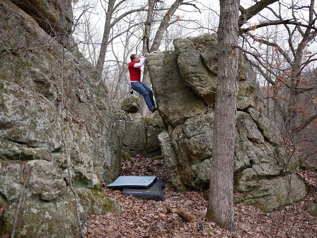Rock Climbing Photo: live not on evil