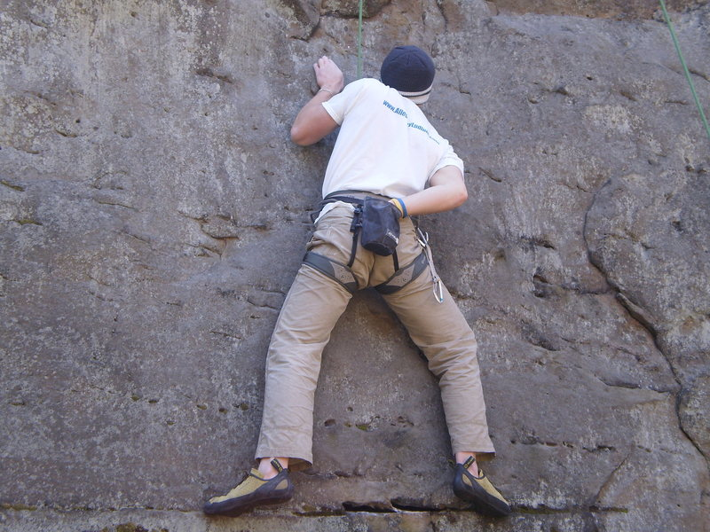 Rock Climbing Photo: Josh Top-roping