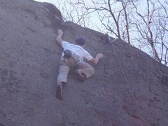 Rock Climbing Photo: Josh top-roping.
