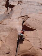 Rock Climbing Photo: Getting past the OW
