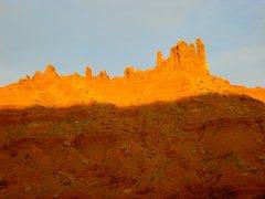 Rock Climbing Photo: Sister Superior group at sunset