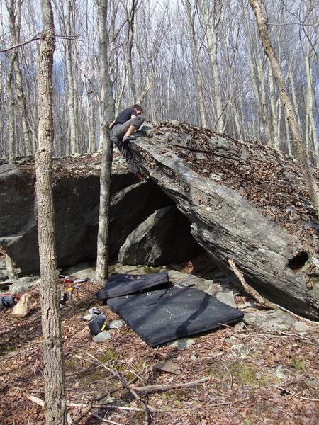 Rock Climbing Photo: cannonade