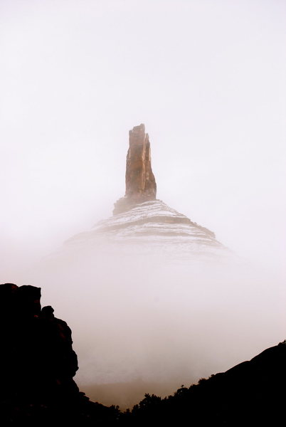 Rock Climbing Photo: A storm rolled through the valley. The weather in ...