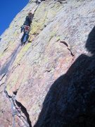 Rock Climbing Photo: happy to find some good pro