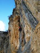 Rock Climbing Photo: Matt on Annidalle at Tina Dalle