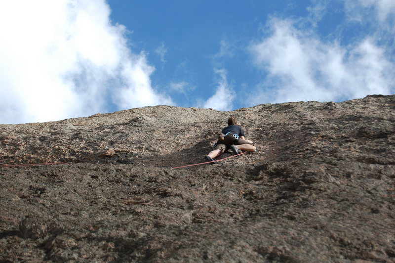 Rock Climbing Photo: Adrian on Inner Peace.