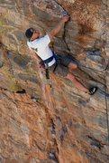 Rock Climbing Photo: Climbing IS resting. Photo by Brian Kristofitz