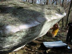 Rock Climbing Photo: Cap-Gun boulder