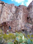 Rock Climbing Photo: Hueco High Ball