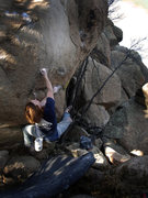 "Rock Climbing Photo: Luke Childers seeing through ""The Greater Ill..."