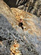 Rock Climbing Photo: Josh feelin' the Dièdre