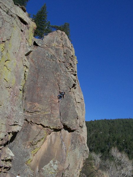 Rock Climbing Photo: Guessy guess!