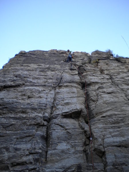 Rock Climbing Photo: good route plenty of places to stick gear
