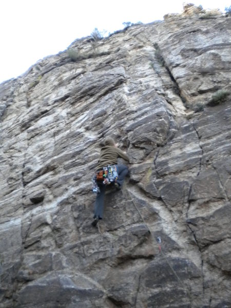 Rock Climbing Photo: can sub gear for bolts