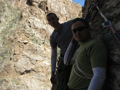 Rock Climbing Photo: lefthand wall mt lemmon