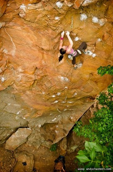 Rock Climbing Photo: Dardanelle Rock in Arkansas