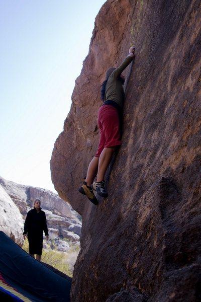 Rock Climbing Photo: Slim Pickens