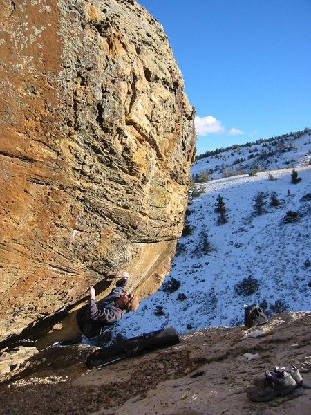 Rock Climbing Photo: Pocahontas V6